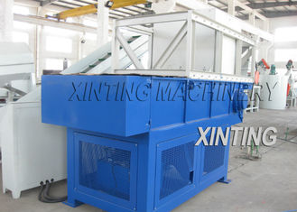Pipes Waste Films Plastic Shredder Machine Automatic With Overloaded Protection
